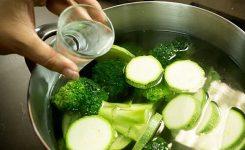 Alternativa al cloro para la desinfección de verduras