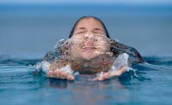 ¡Cómo huele a cloro la piscina!