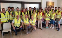 CTSA en la visita a las instalaciones de Heineken en Valencia