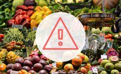 Las alertas alimentarias en España han aumentado en 2017