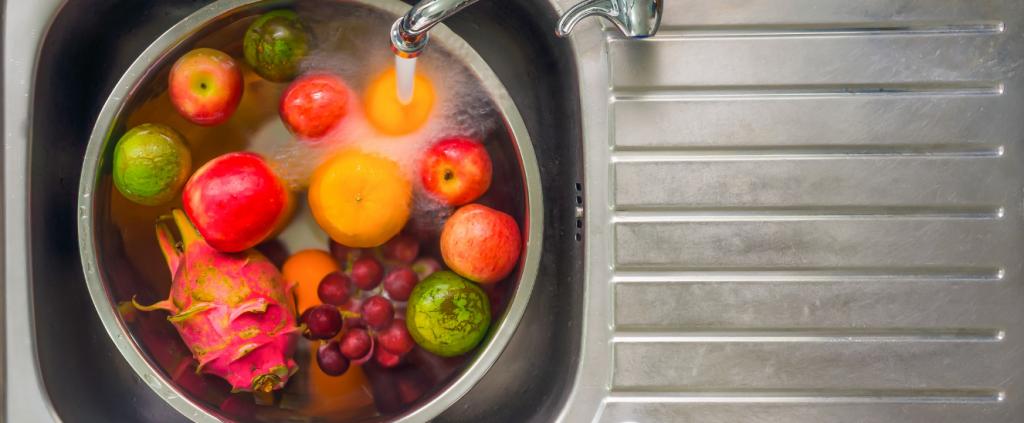 Lavar frutas antes consumirlas
